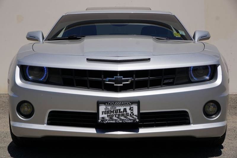 2010 CHEVROLET CAMARO SS 2DR COUPE W2SS silver ice metallic abs - 4-wheel air filtration airba
