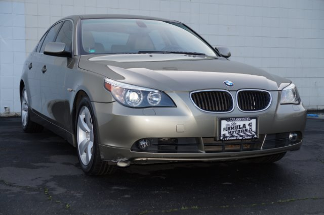 2006 BMW 5 SERIES 530I amethyst gray metallic this beautiful gray metallic 530i has beige leather
