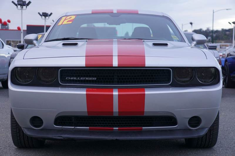 2012 DODGE CHALLENGER RALLYE REDLINE APPEARANCE GROUP bright silver metallic clearco 2-stage unlo