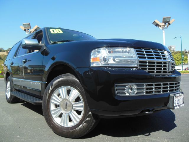 2008 LINCOLN NAVIGATOR 4WD black clearcoat lincoln navigator 54l v8 4wd automatic leather m