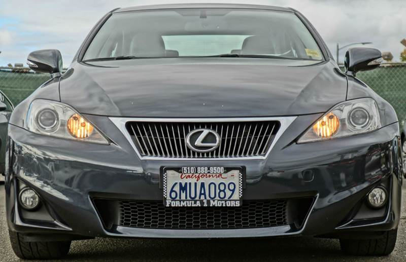 2011 LEXUS IS 250 BASE 4DR SEDAN 6A cerulean blue metallic abs - 4-wheel air filtration airbag