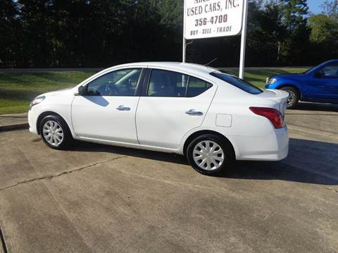 2016 Nissan Versa for sale in Steens, MS