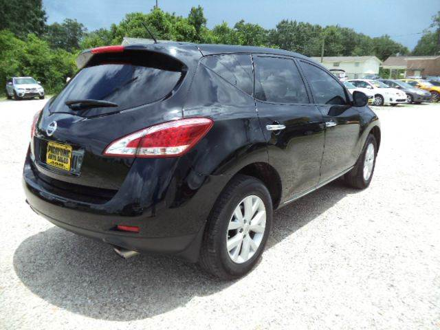 2012 Nissan Murano S 4dr SUV - Picayune MS