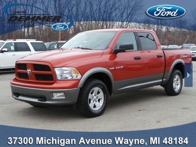 2009 dodge ram pickup 1500 trx4 off road in wayne mi jack demmer ford inc. Black Bedroom Furniture Sets. Home Design Ideas