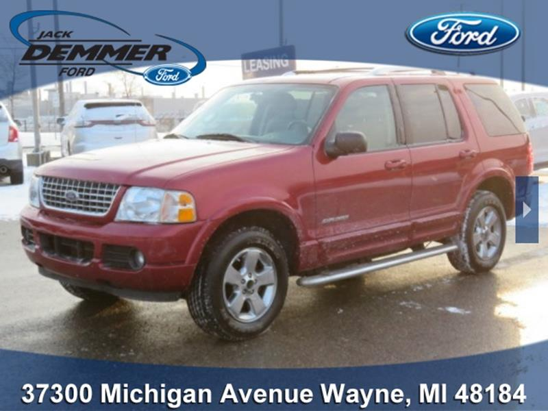 used 2004 ford explorer for sale in michigan. Black Bedroom Furniture Sets. Home Design Ideas