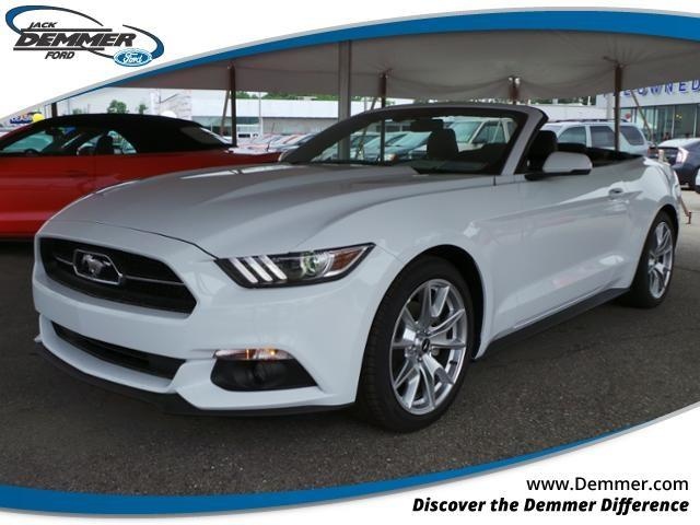 2015 Ford Mustang Ecoboost Premium 2dr Convertible In