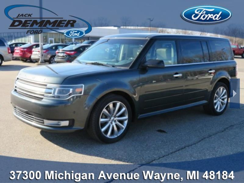 2016 ford flex for sale in michigan. Black Bedroom Furniture Sets. Home Design Ideas