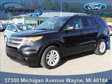 2015 Ford Explorer for sale in Wayne, MI
