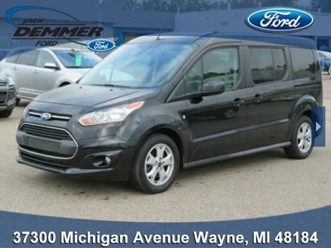 2015 Ford Transit Connect Wagon for sale in Wayne, MI