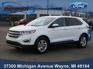 2016 Ford Edge for sale in Wayne, MI