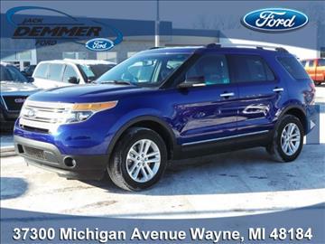 Jack Demmer Ford Inc Used Cars Wayne Mi Dealer