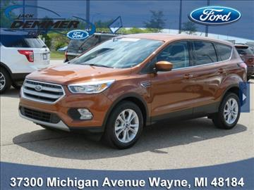 2017 Ford Escape for sale in Wayne, MI