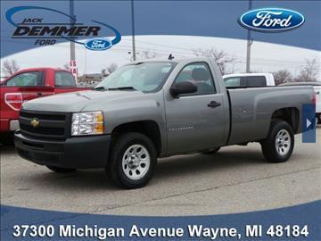 2009 chevrolet silverado 1500 for sale michigan. Black Bedroom Furniture Sets. Home Design Ideas