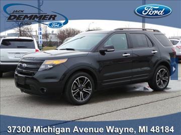2013 Ford Explorer for sale in Wayne, MI