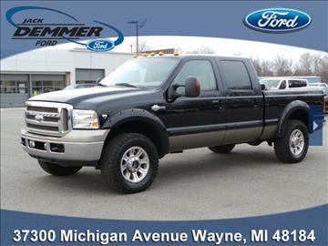 used ford f 250 for sale wayne mi. Black Bedroom Furniture Sets. Home Design Ideas