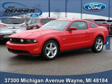 2010 Ford Mustang for sale in Wayne, MI