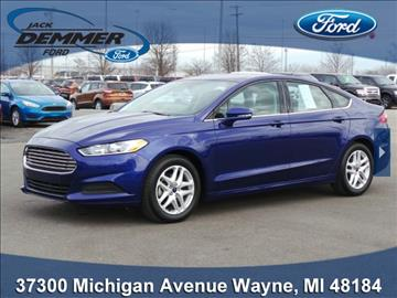 2016 Ford Fusion for sale in Wayne, MI