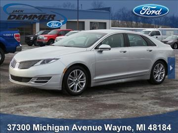 2015 Lincoln MKZ for sale in Wayne, MI