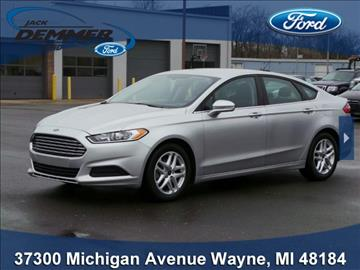 2015 Ford Fusion for sale in Wayne, MI
