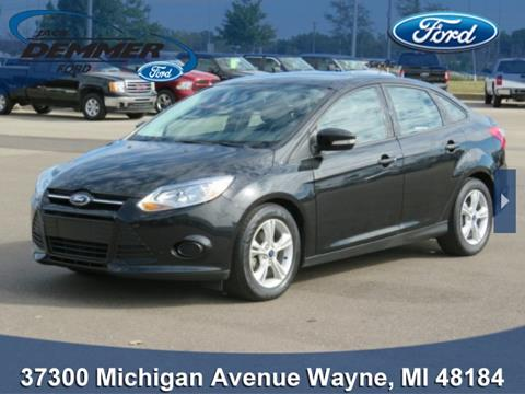 used ford focus for sale in wayne mi. Black Bedroom Furniture Sets. Home Design Ideas