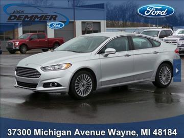 Jack Demmer Ford Inc Used Cars Wayne Mi Dealer ...