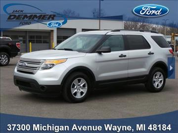 2012 Ford Explorer for sale in Wayne, MI