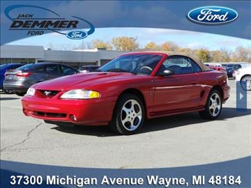 1996 ford mustang svt cobra for sale. Black Bedroom Furniture Sets. Home Design Ideas