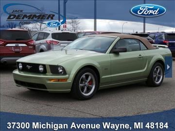 2005 ford mustang for sale michigan. Black Bedroom Furniture Sets. Home Design Ideas