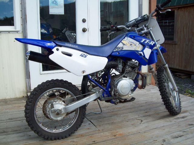 2001 Yamaha TT-R125