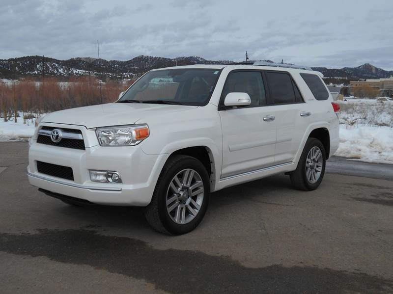 2011 toyota 4runner limited awd 4dr suv in durango co for Durango motor company used cars