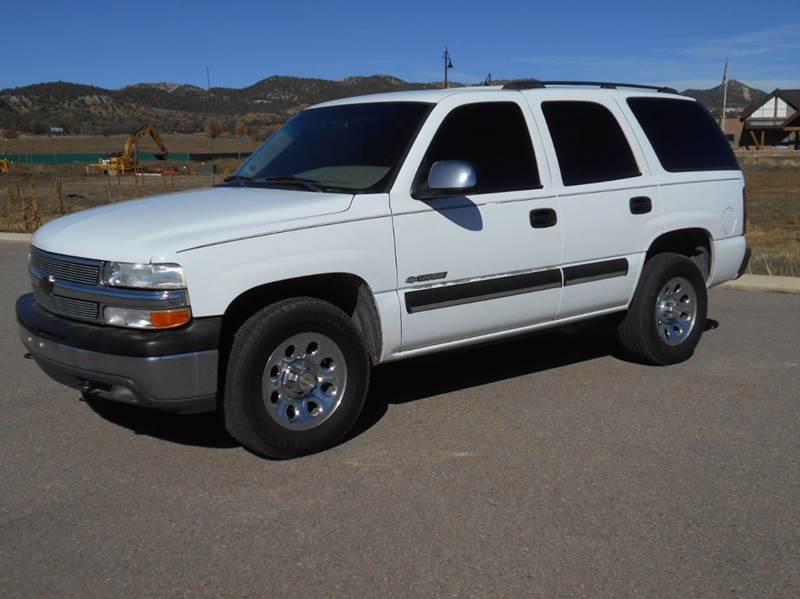 2003 chevrolet tahoe 4dr 4wd suv in durango co sal 39 s for Durango motor company used cars