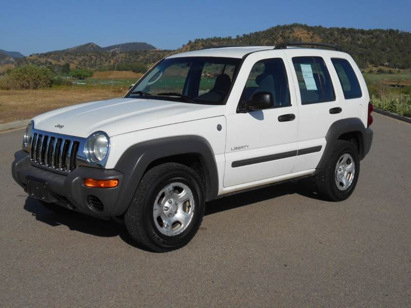 2004 Jeep Liberty Sport 4dr 4wd Suv In Durango Co Sal 39 S Motor Corral