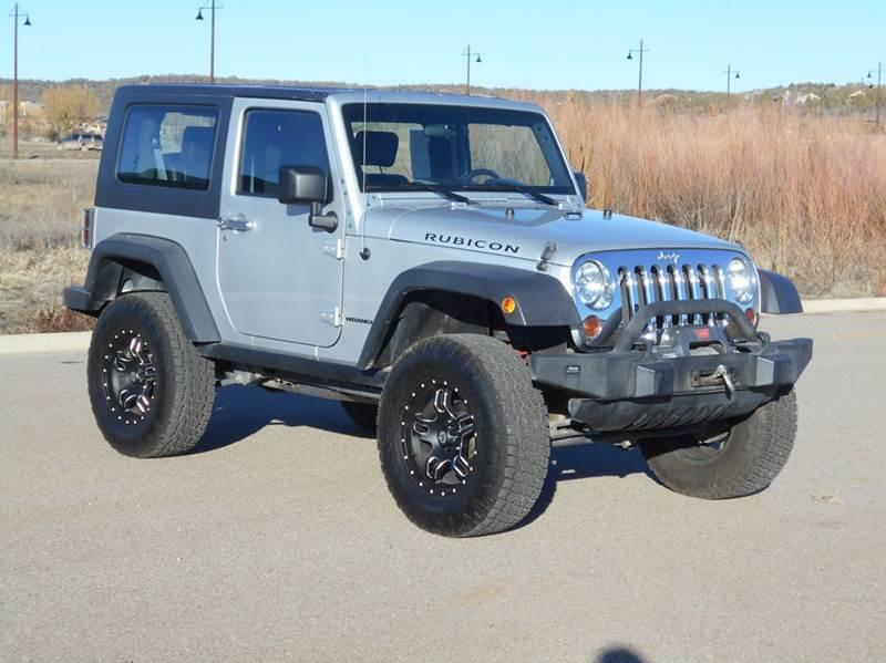 2010 jeep wrangler rubicon 4x4 2dr suv in durango co sal for Sal s motor corral durango co