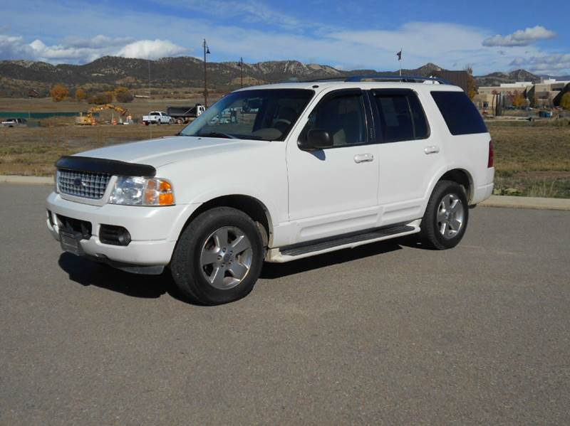 2003 ford explorer limited 4wd 4dr suv in durango co sal 39 s motor corral. Black Bedroom Furniture Sets. Home Design Ideas