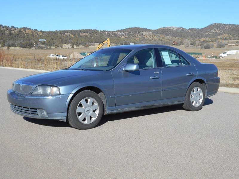 2004 lincoln ls luxury 4dr sedan v6 in durango co sal 39 s for Sal s motor corral durango co
