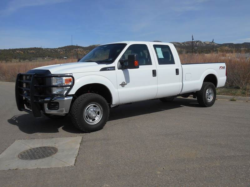 2011 ford f 350 super duty xl 4x4 4dr crew cab 8 ft lb for Sal s motor corral durango co