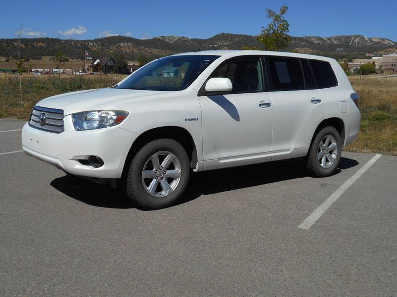 2009 toyota highlander hybrid base awd 4dr suv in durango. Black Bedroom Furniture Sets. Home Design Ideas