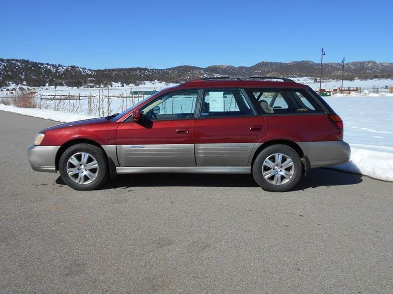 2004 subaru outback h6 3 0 35th anniversary edition awd for Sal s motor corral durango co