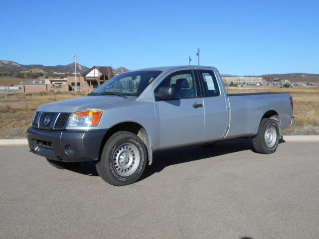 2008 nissan titan xe 4x4 pickup extended cab long bed 4dr for Sal s motor corral durango co