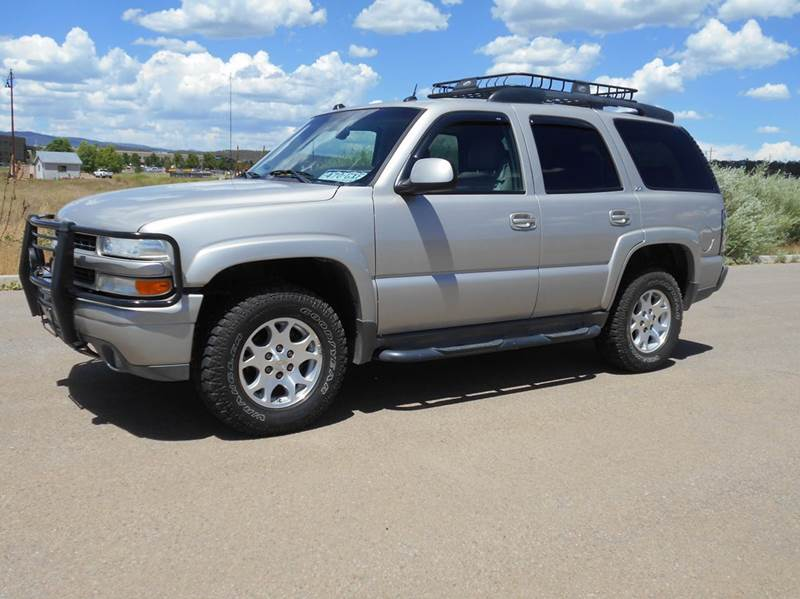 2005 chevrolet tahoe z71 4wd 4dr suv in durango co sal 39 s. Black Bedroom Furniture Sets. Home Design Ideas