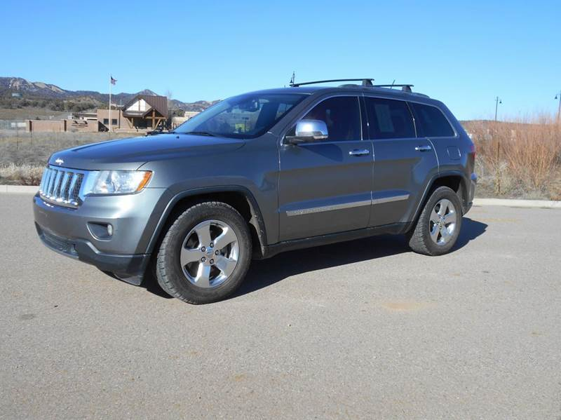 2011 Jeep Grand Cherokee Overland 4x4 4dr Suv In Durango Co Sal 39 S Motor Corral
