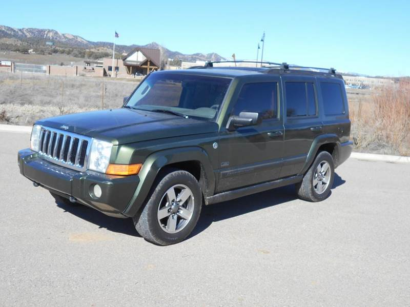 2007 jeep commander sport 4dr suv 4wd in durango co sal for Sal s motor corral durango co