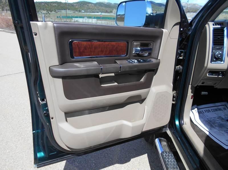 2011 RAM Ram Pickup 3500 4x4 Laramie Longhorn 4dr Crew Cab 8 ft. LB Pickup - Durango CO