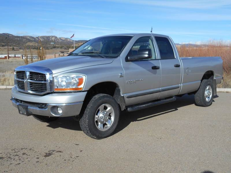 2006 dodge ram pickup 2500 slt 4dr quad cab 4wd lb in durango co sal 39 s motor corral. Black Bedroom Furniture Sets. Home Design Ideas