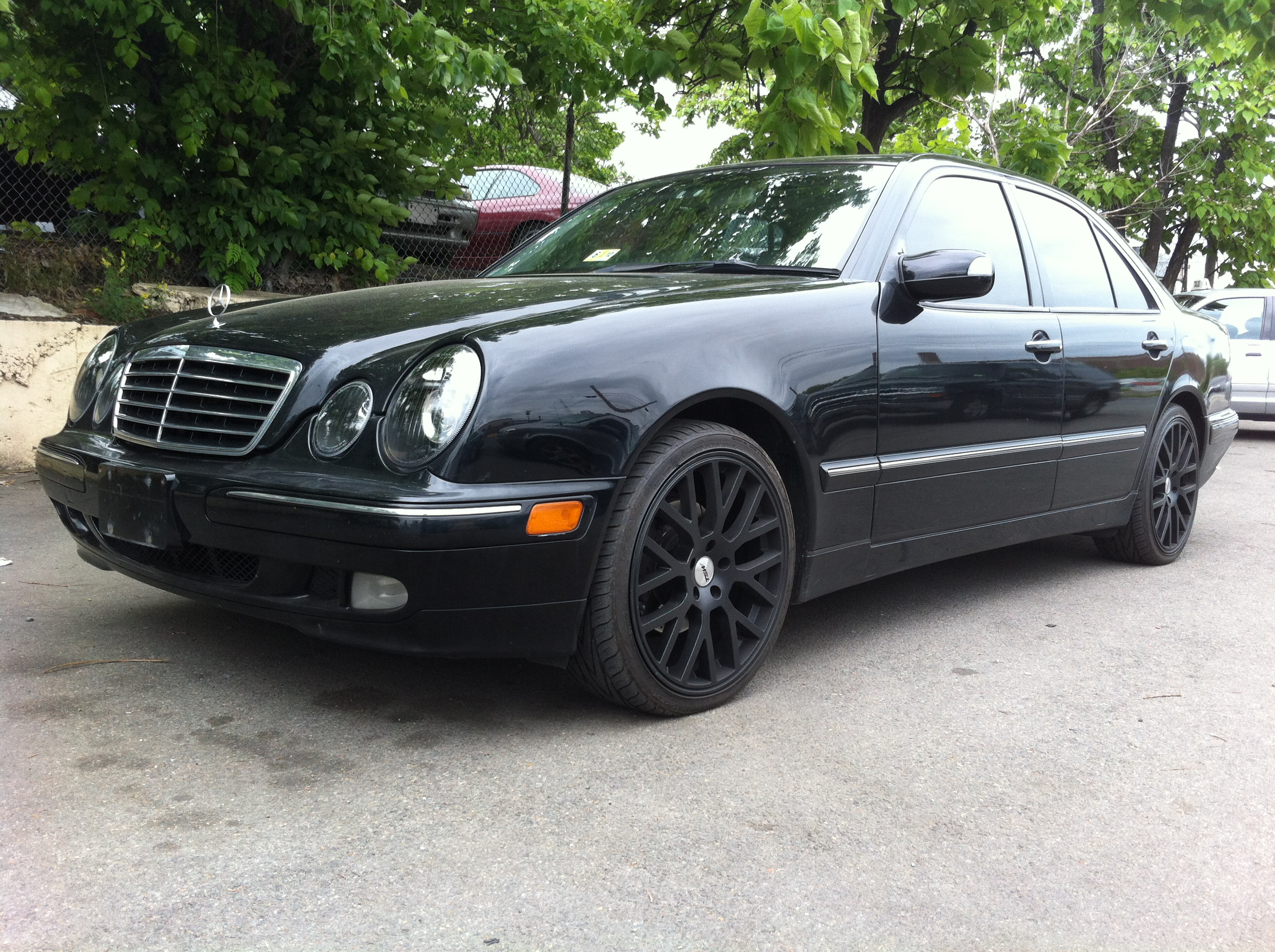 2002 mercedes benz e class e320 4dr sedan in washington