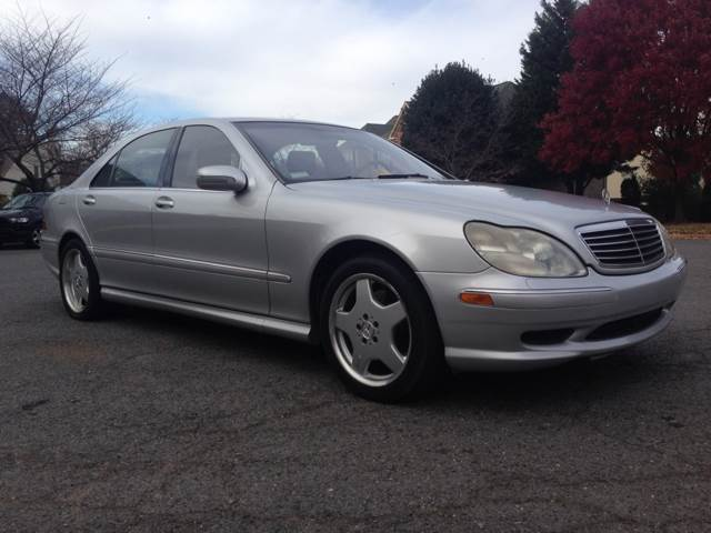 Used 2002 mercedes benz s class for sale for Mercedes benz s500 for sale