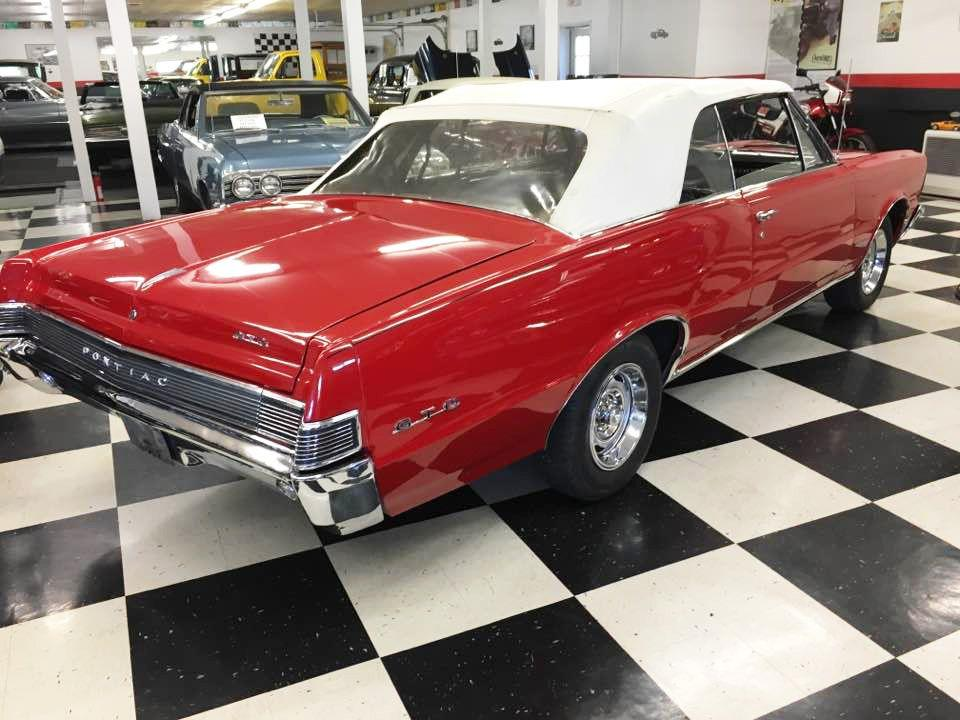 1965 Pontiac GTO 4 SPD TRI-POWER CONVERTIBLE - Malone NY
