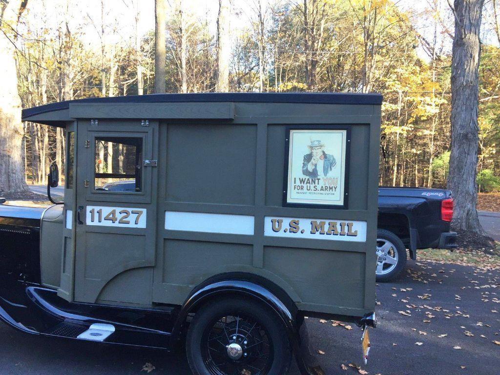 1930 Ford Model A MAIL TRUCK - Malone NY
