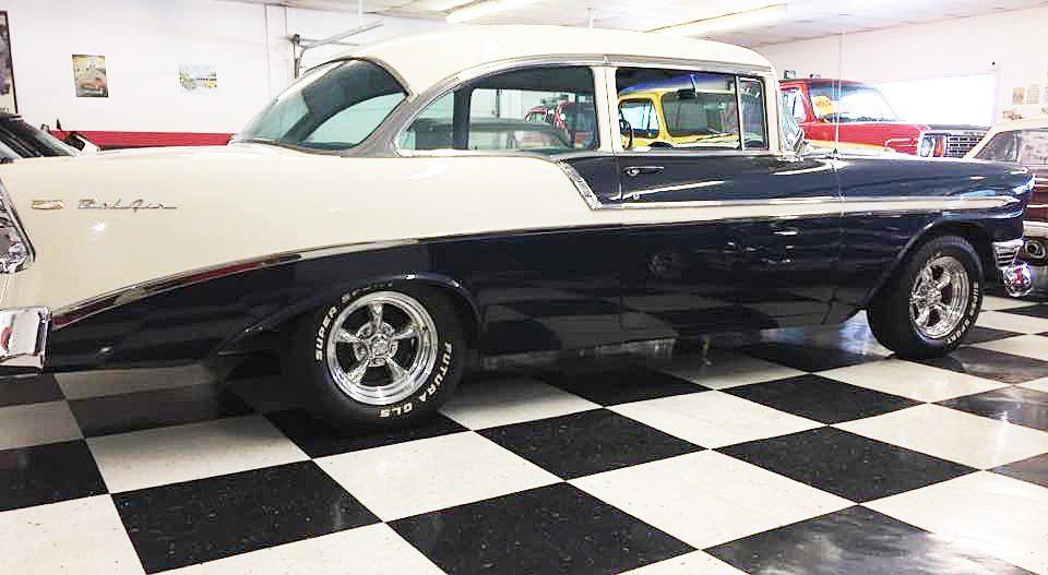 1956 Chevrolet Bel Air FRAME OFF RESTORED 4 SPD - Malone NY