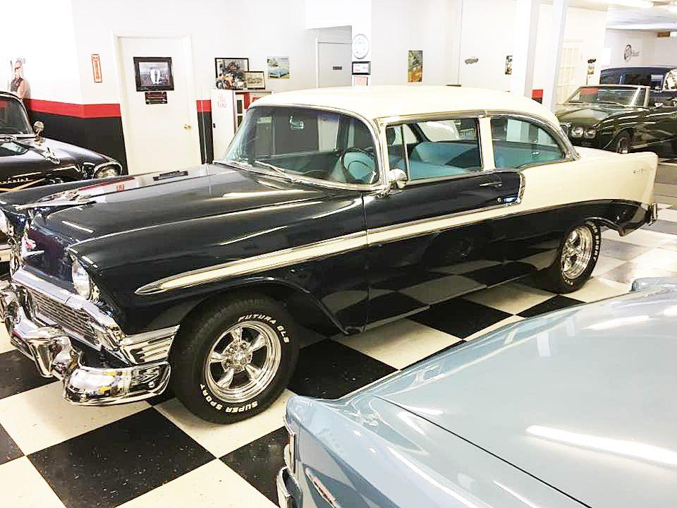 1956 Chevrolet Bel Air FRAME OFF RESTORED 4 SPD - Malone NY